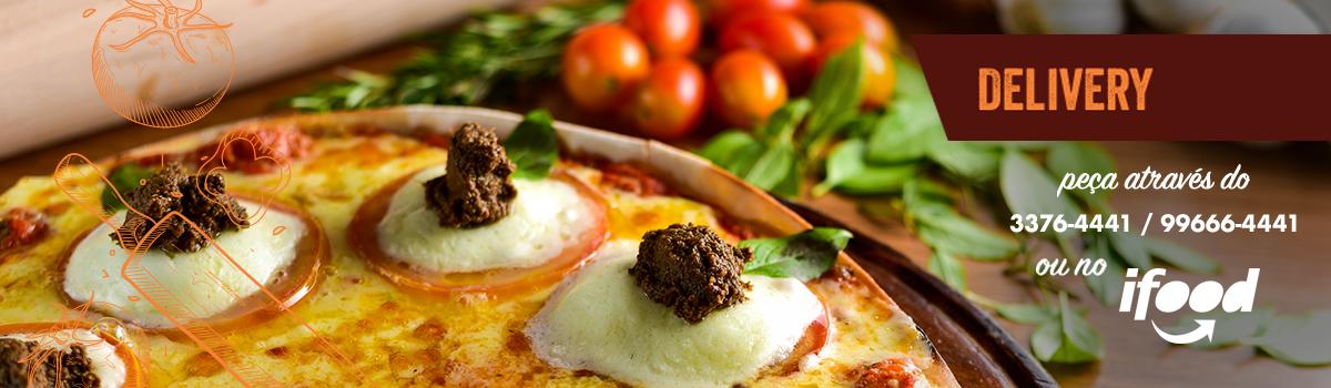 imagem do delivery da figata em Vitória, com pizza sabor figata